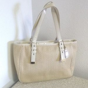 Cole Haan Kendra Soft Straw Patent Leather Bag